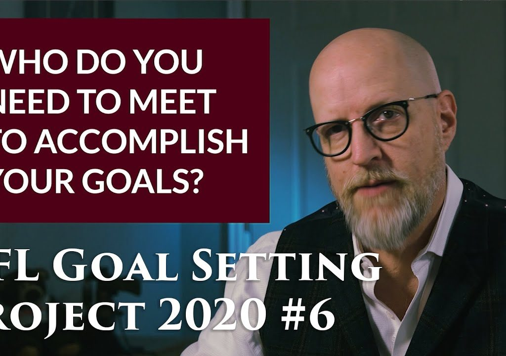 You've got the tools you will need to set goals not just for this year, but for years to come. Now we're going to add the power of Who to our goals.