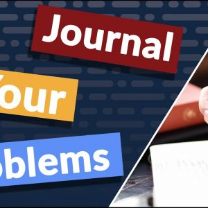 Dear Diary, please help me solve my problems. Learn today how to journal your problems away on Distinctions For Life.