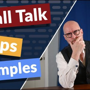 Here are tips on making small talk. How I went from being a small talk hating introvert to a person everyone thinks is an extrovert.