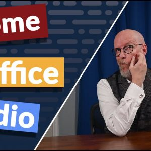 The idea of a home office isn't new, but I'd contend that ambitious people need not only an office but some kind of studio as well. Today's distinction is about my concept of a home office-studio.